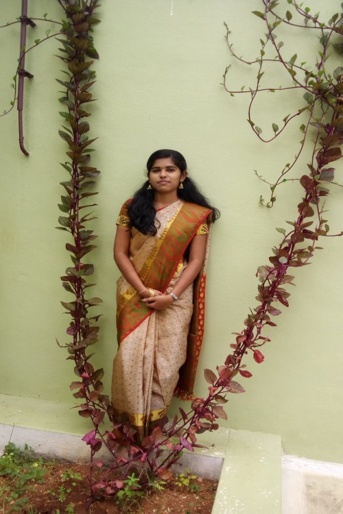 Loading Photo(s) of Kongu Nattu Gounder Matrimonial Bride - Priyanka [GK12382]